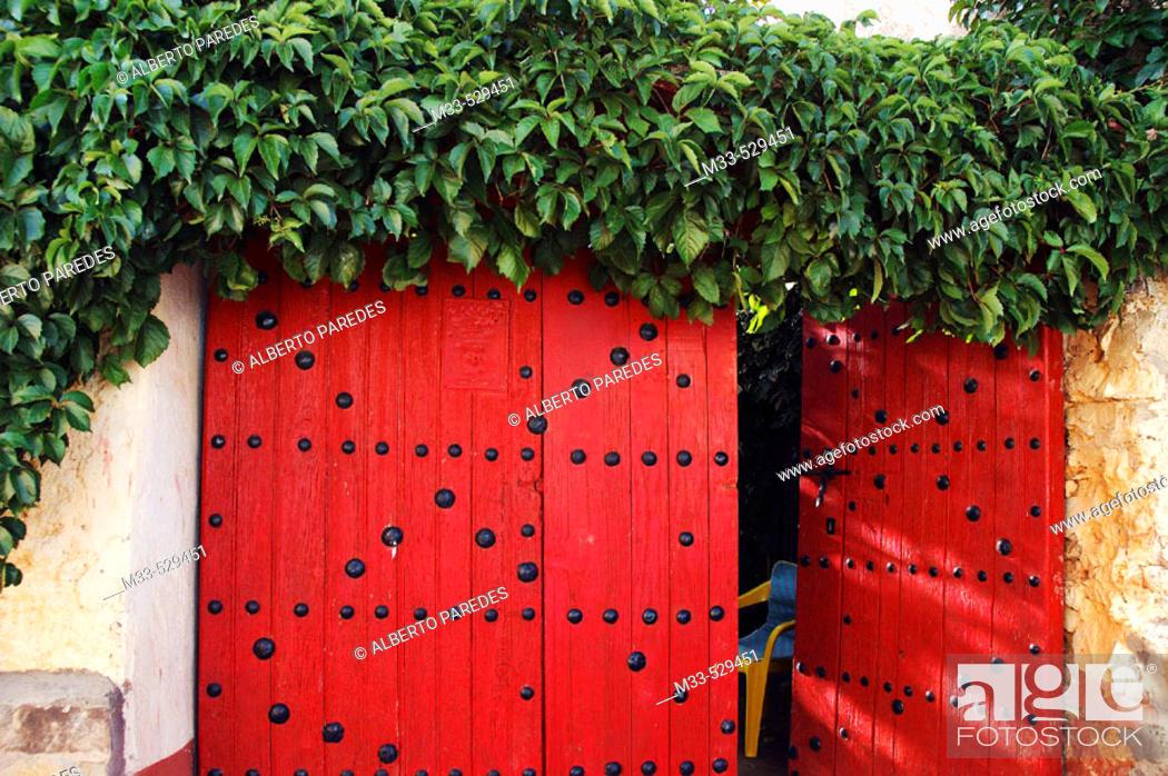Stock Photo: Orcajo.  Zaragoza province. Spain.