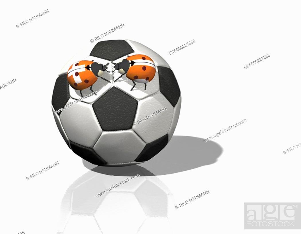 Stock Photo: Fußball-Begegnung.