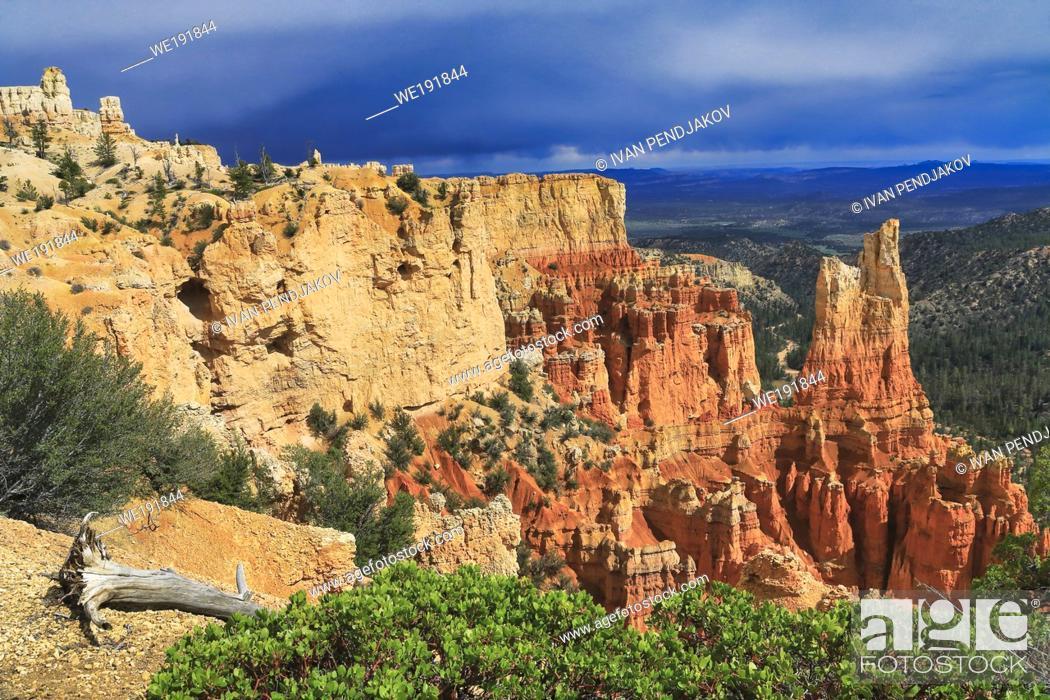 Imagen: Paria View, Bryce Canyon National Park, Utah, USA.