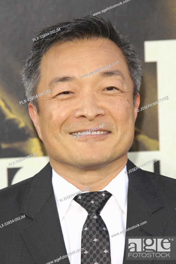 "Stock Photo: Jim Lee at Warner Bros. Pictures' """"The Kitchen"""" Premiere held at the TCL Chinese Theatre, Los Angeles, CA, August 5, 2019."
