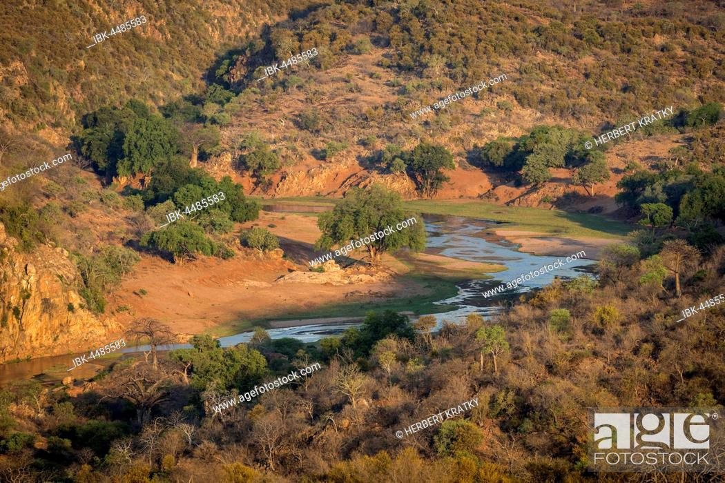 Stock Photo: Luvuvhu River, Kruger National Park, South Africa.