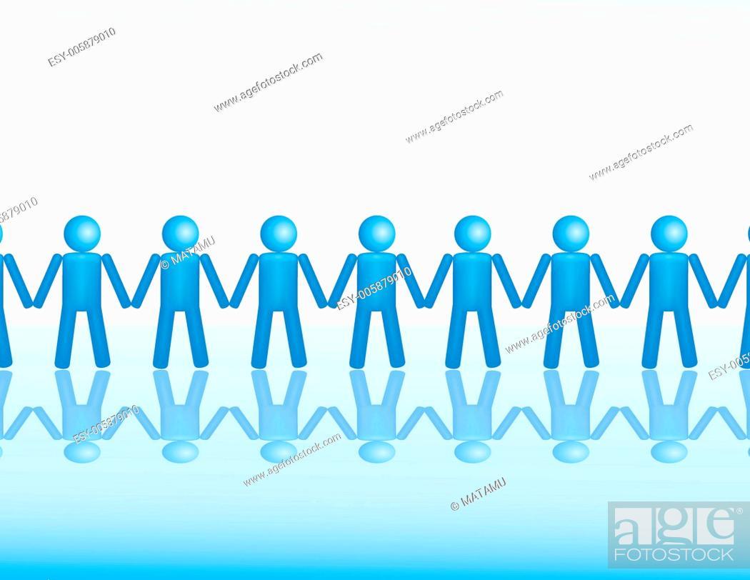 Stock Vector: Business teamwork concept.