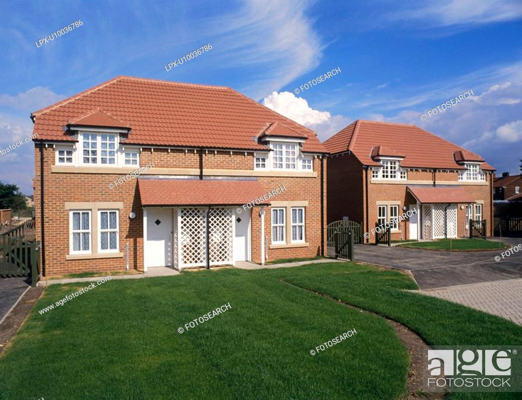 Stock Photo: Residential development, England.