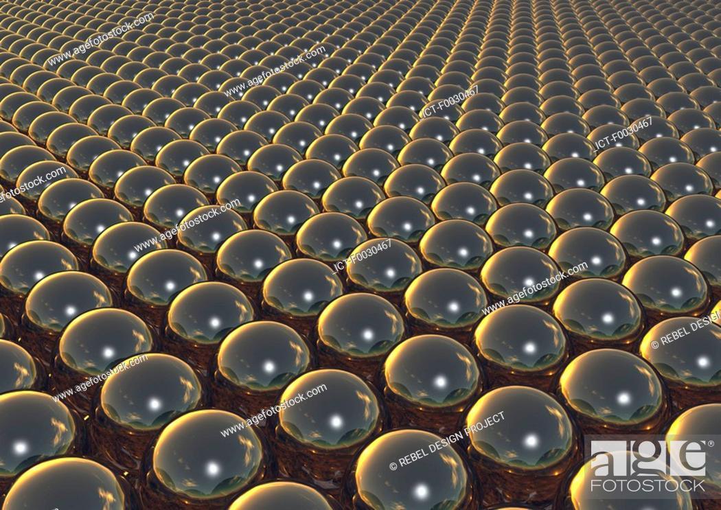 Stock Photo: Digital creation: balls.