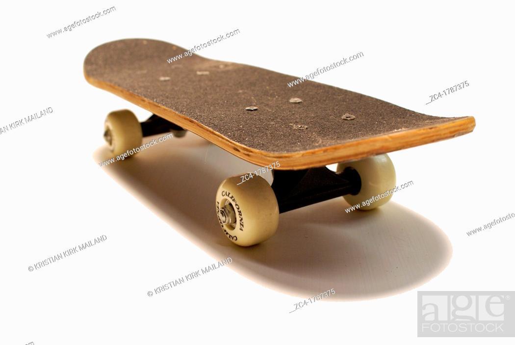 Stock Photo: Skateboard, isolated.