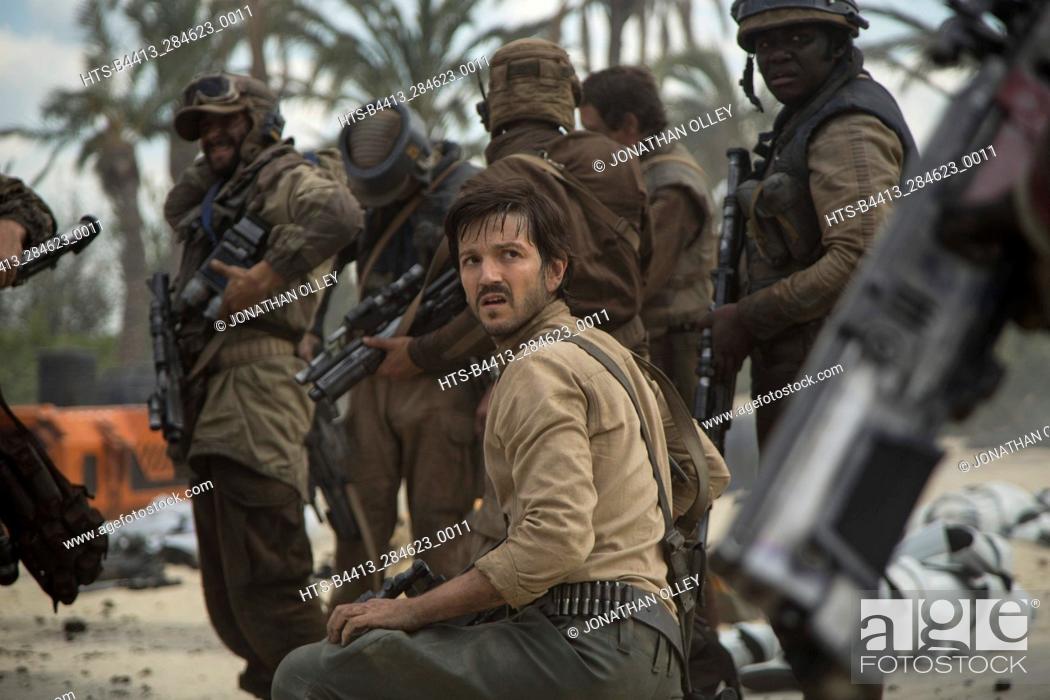 Stock Photo: Rogue One: A Star Wars Story. Cassian Andor (Diego Luna).