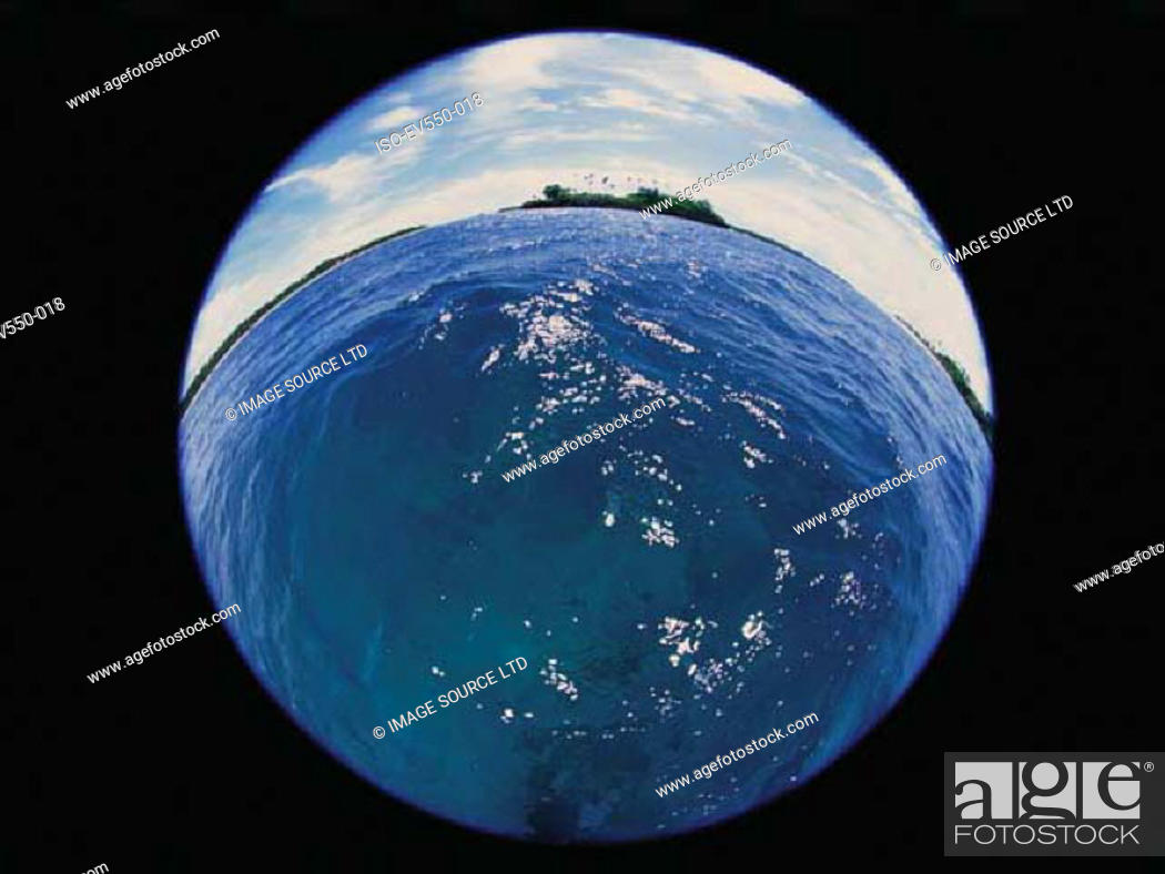 Stock Photo: Tropical island.