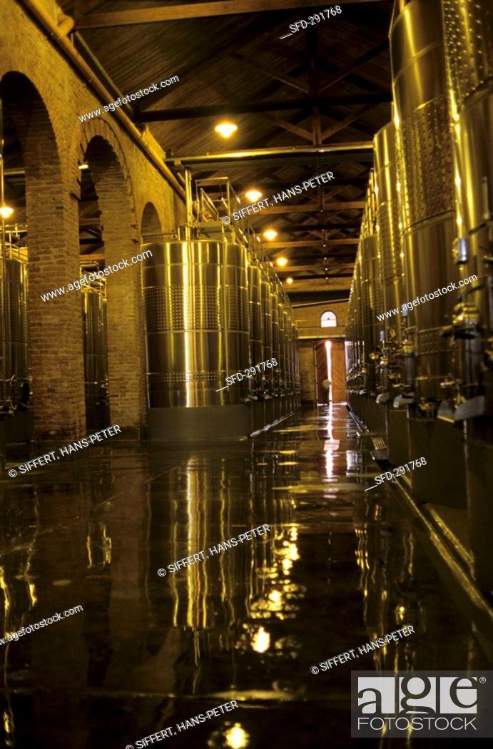 Steel Tank Cellar Bodega Terrazas De Los Andes Lujan De
