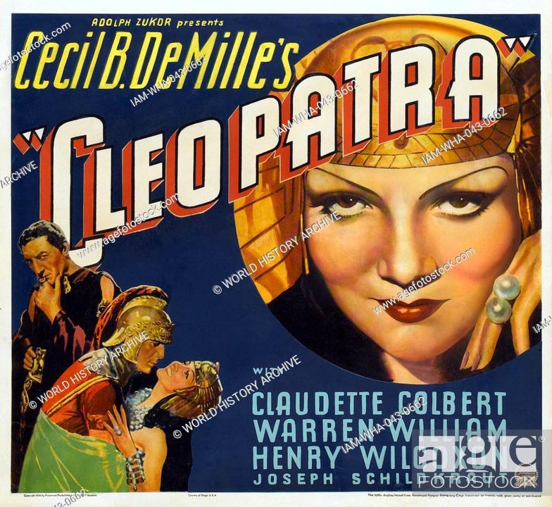 Cleopatra A 1963 British American Swiss Epic Drama Film Starring