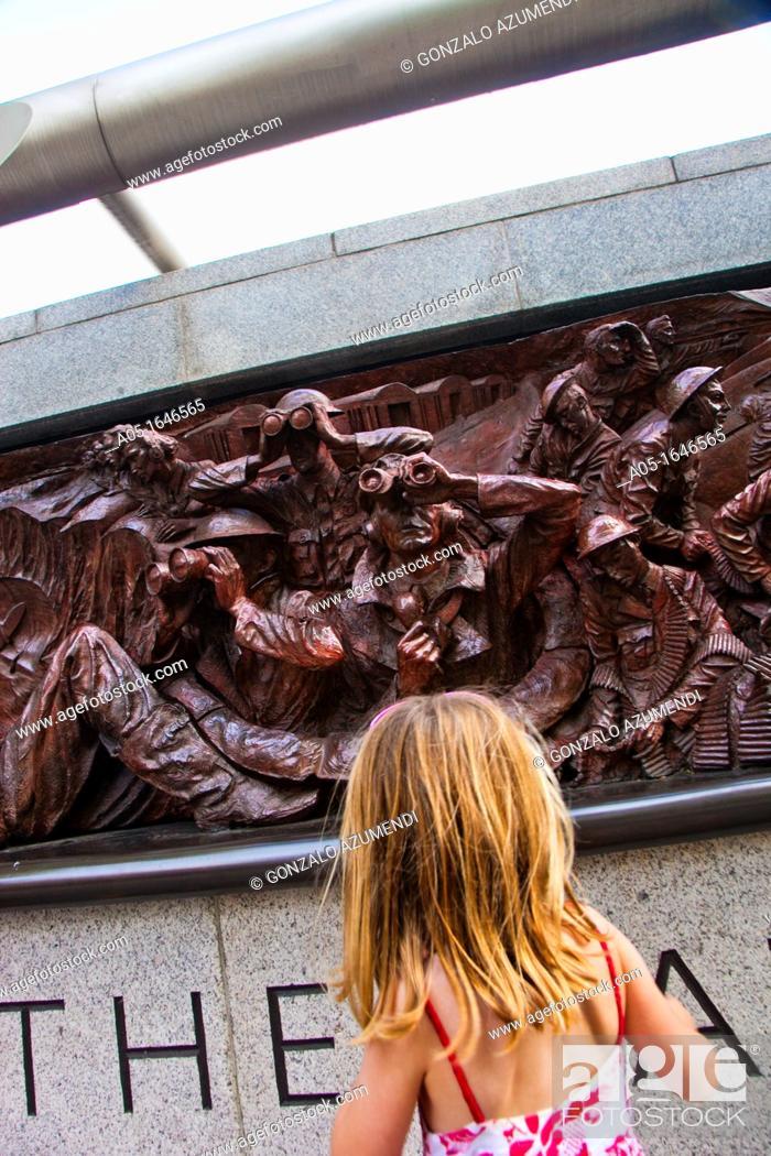 Stock Photo: The Battle of Britain Memorial  Westminster  London  England  United Kingdom  UK  Europe.