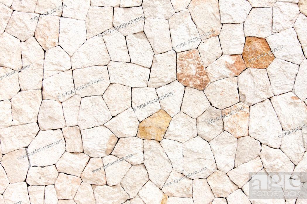 Stock Photo: stone decorative tile texture.