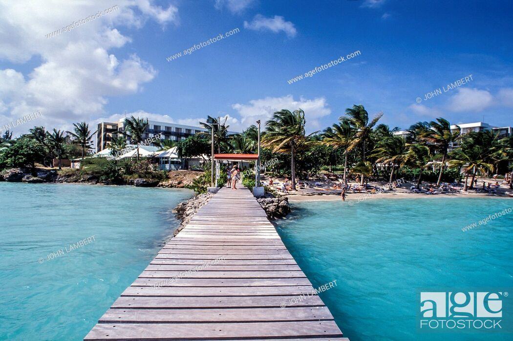 Stock Photo: guadeloupe island, hotel meridienne.