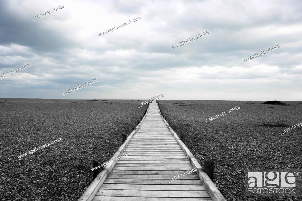 Stock Photo: Dungeness, Kent, England.