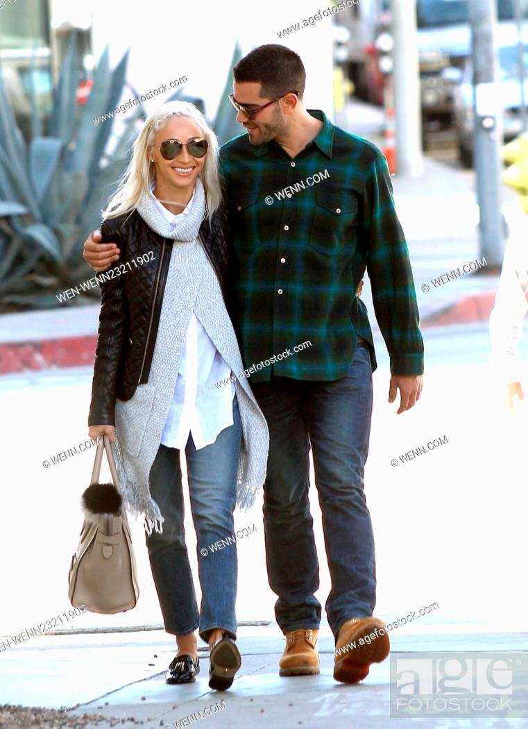 Stock Photo: Cara Santana and Jesse Metcalfe out on a romantic shopping spree Featuring: Cara Santana, Jesse Metcalfe Where: Los Angeles.