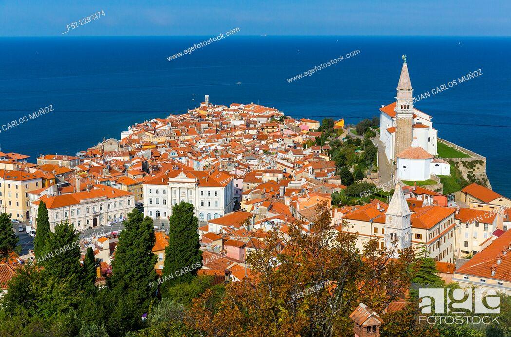 Stock Photo: Piran, Slovenia, Europe.