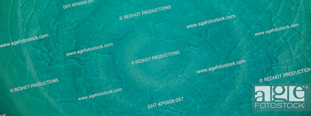 Stock Photo: Blue Textured Surface close up.