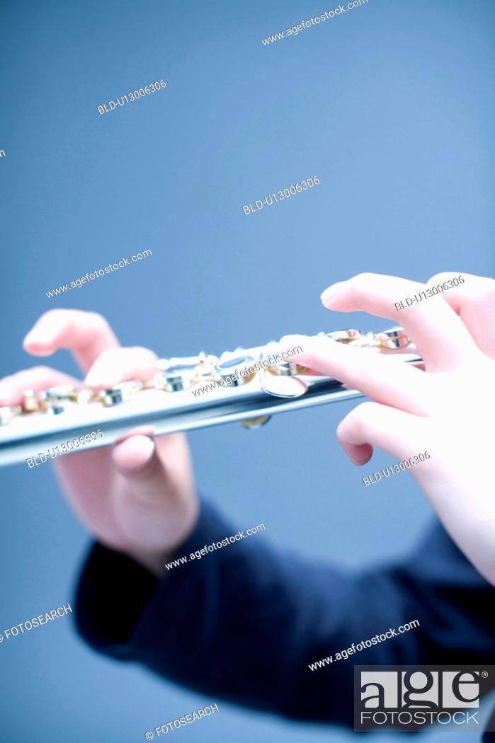 Stock Photo: Flute.