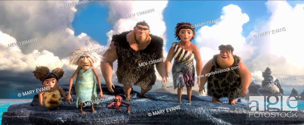 Sandy Gran Grug Ugga Thunk Film The Croods 2013 Director Kirk De Micco Chris Sanders 21 Stock Photo Picture And Rights Managed Image Pic Mev 13066899 Agefotostock