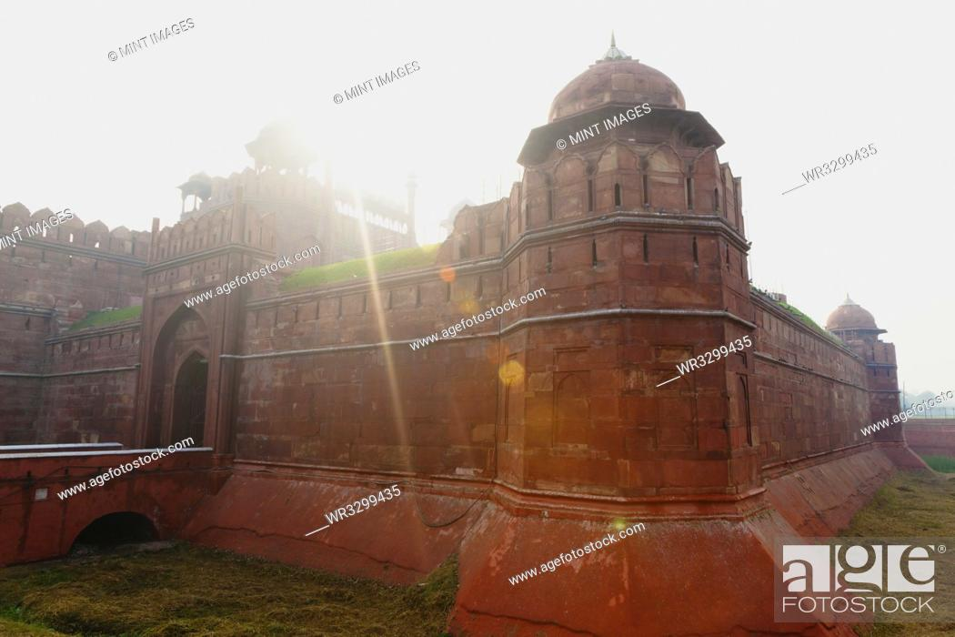 Stock Photo: Red Fort.