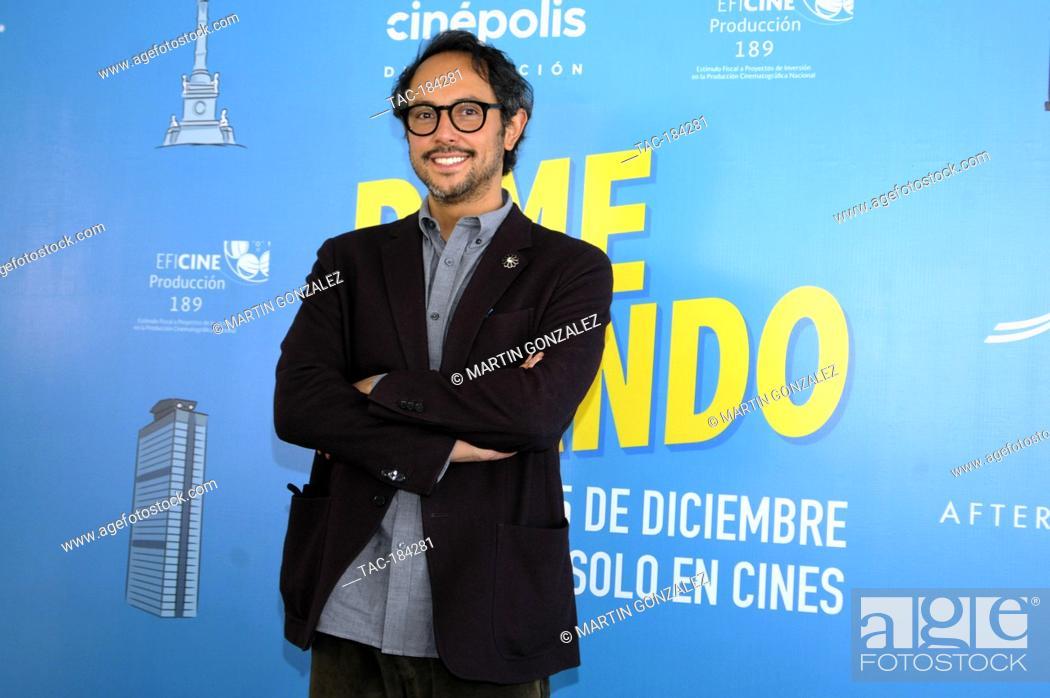 Stock Photo: MEXICO CITY, MEXICO ñ DECEMBER 14: Gerardo Gatica during the press conference for the movie ëDime Cuando Tuí on December 14 2020 in Mexico City, Mexico.