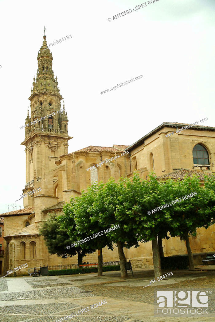 Stock Photo: Santo Domingo de la Calzada Cathedral. La Rioja. Spain.
