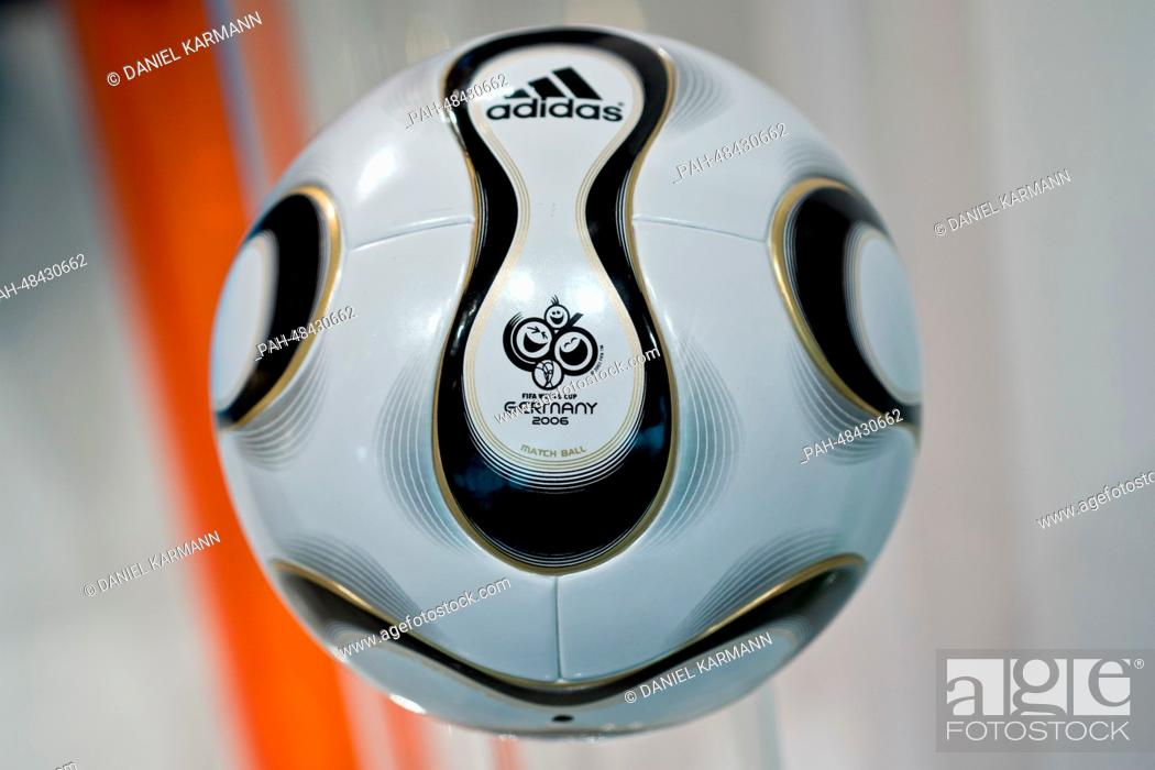 The 'Teamgeist' soccer ball which was the offcial ball of