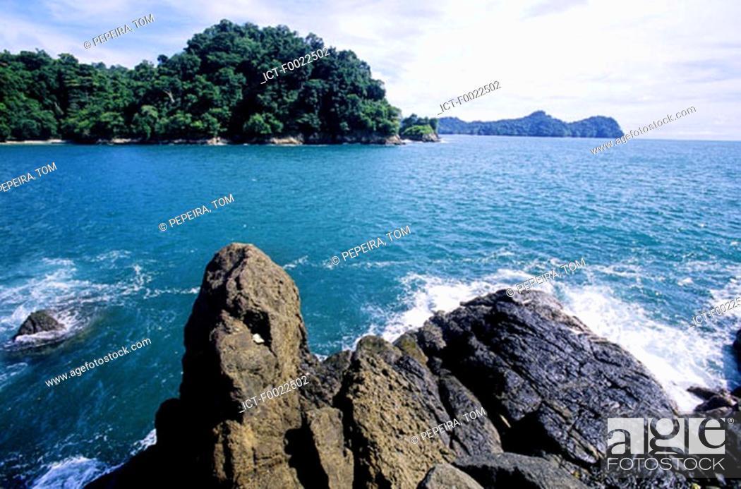 Stock Photo: Costa Rica, Pacific coast, seaside.