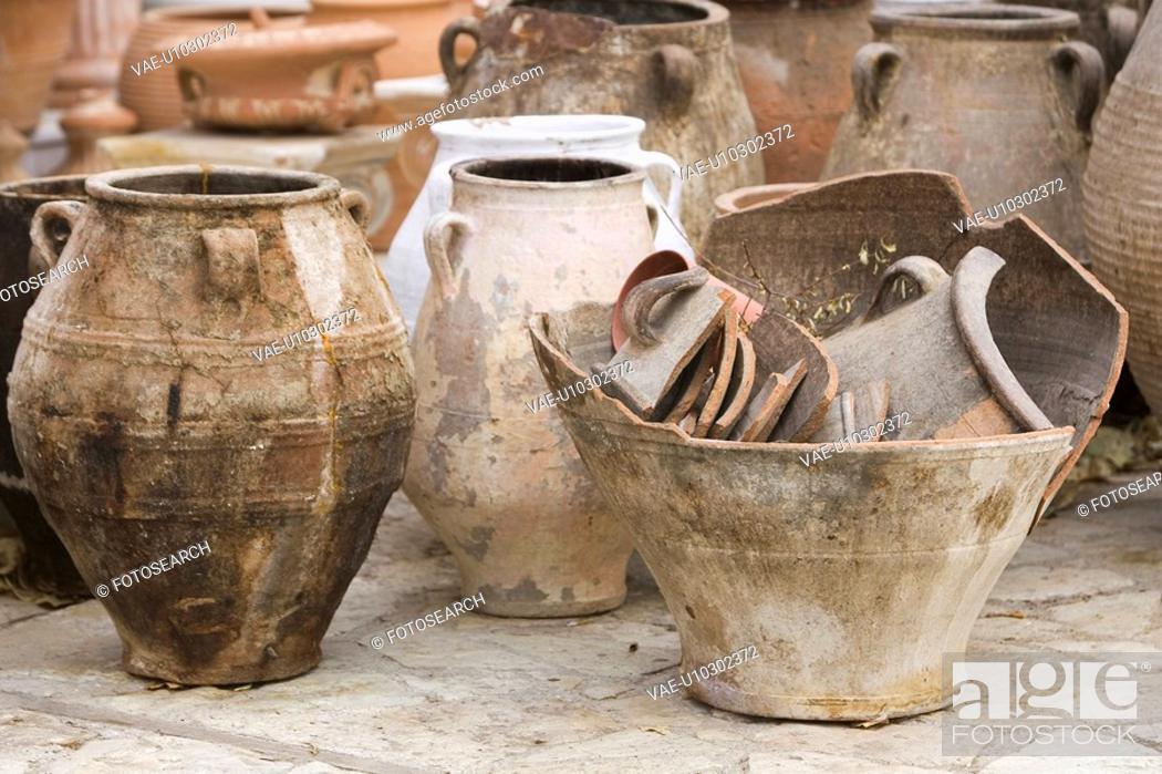 Stock Photo: Clay, Design, Decorative, Day, Art.