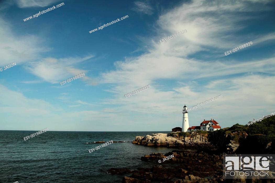 Stock Photo: Lighthouse.