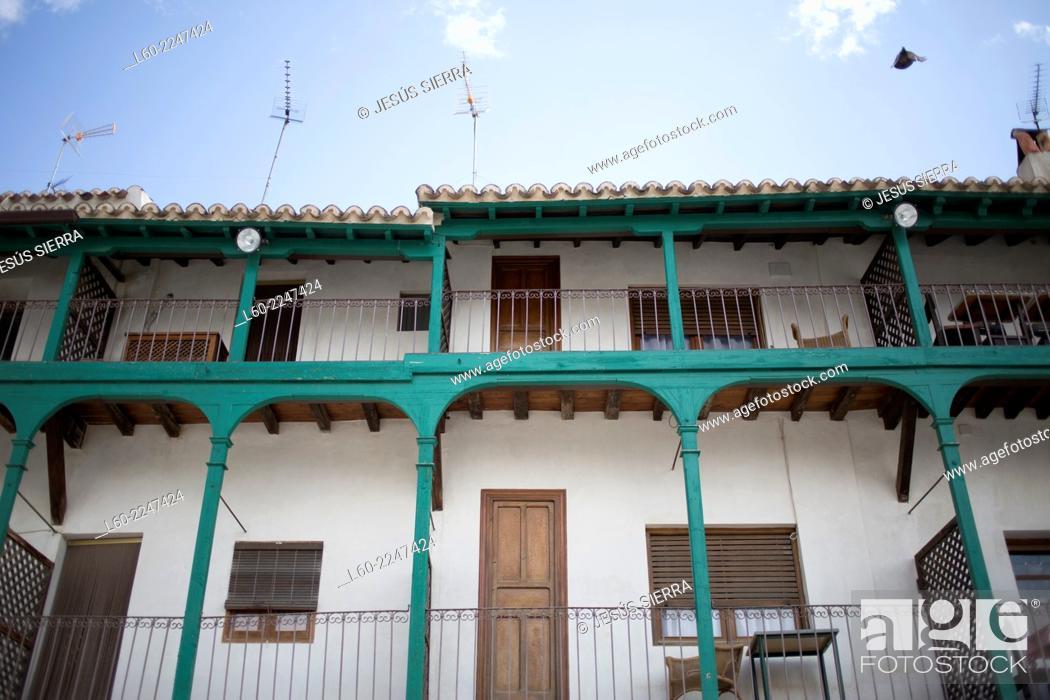 Imagen: Houses in Chinchón, Comunidad de Madrid, Spain.