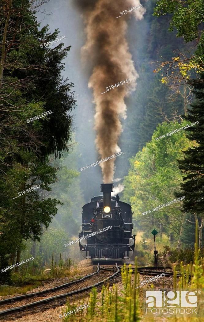 Stock Photo: Durango/Silverton, Colorado, USA.