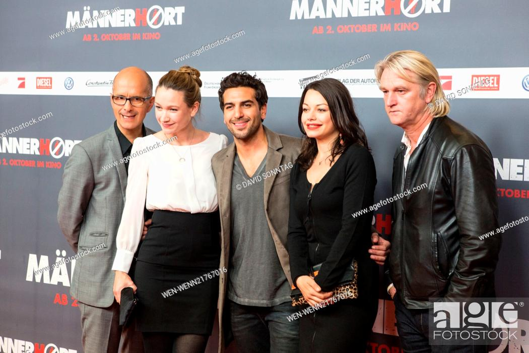 Premiere Of Maennerhort At Cubix Movie Theatre Featuring Christoph