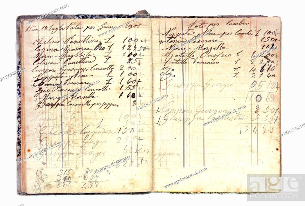 Imagen: Historic debt register.