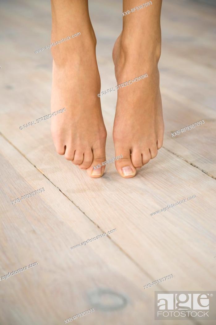 Stock Photo: close up of feet.