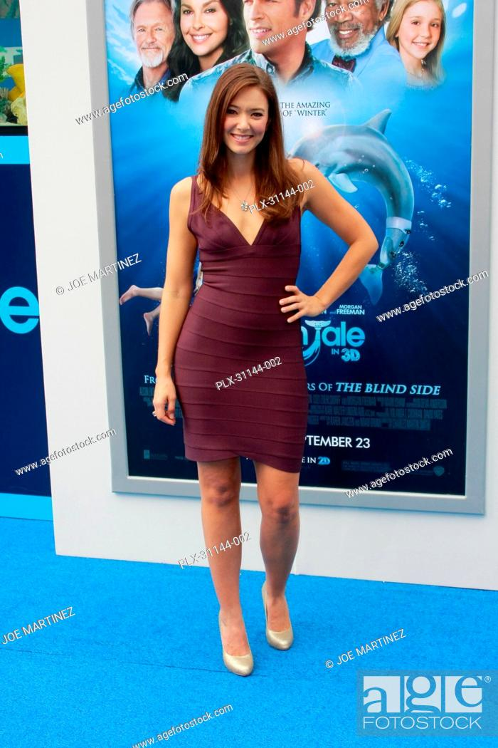 Stock Photo: Austin Highsmith at the World Premiere of Warner Brothers Pictures' Dolphin Tale. Arrivals held at The Village Theatre in Westwood, CA, September 17, 2011.