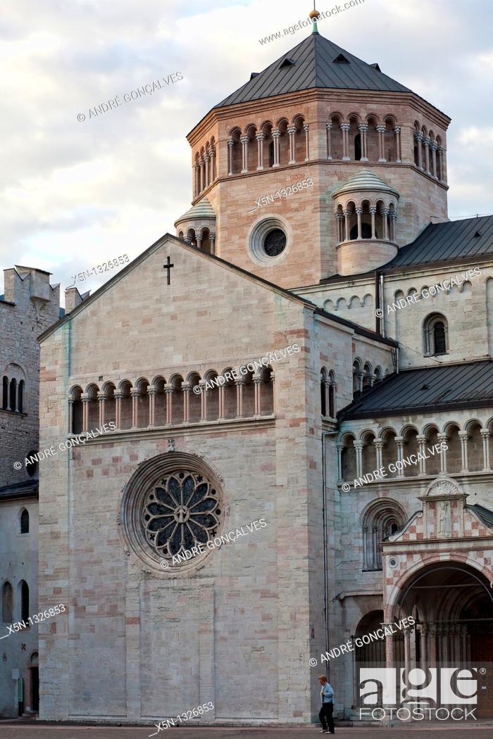 Stock Photo: Duomo, Trento, Italy.