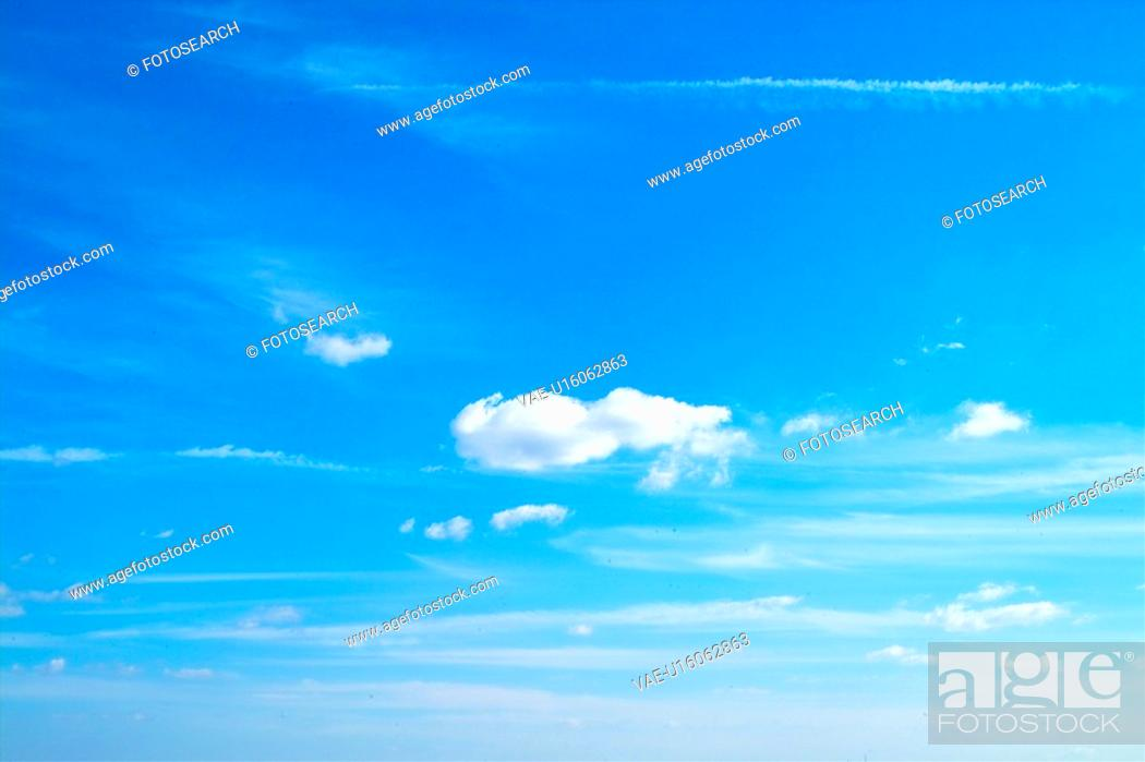 Stock Photo: peace, natural, daylight, day, cloud, background.