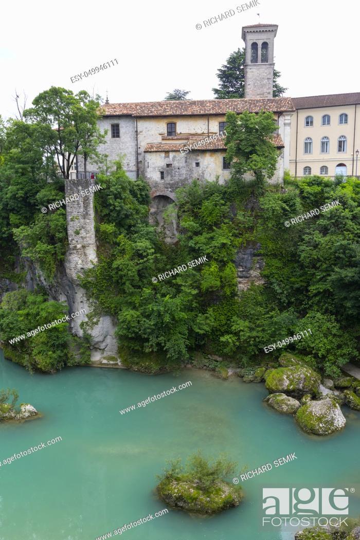 Stock Photo: Cividale Del Friuli, Friuli-Venezia Giulia, Italy.