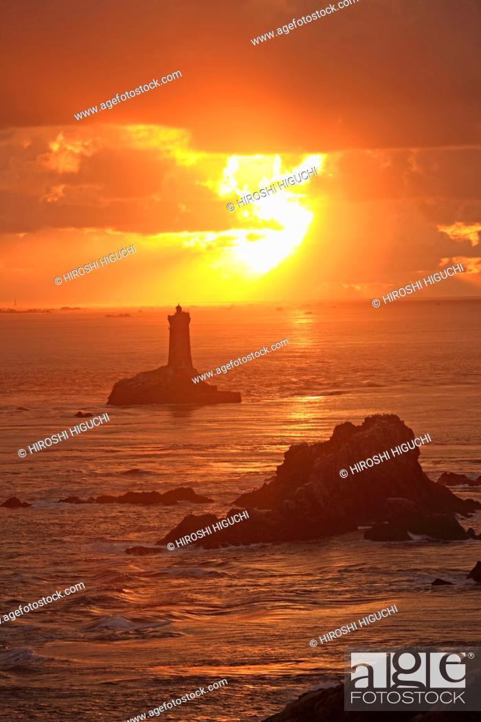 Stock Photo: France, Brittany, Finistere, Cornouaille, Pointe du Raz.