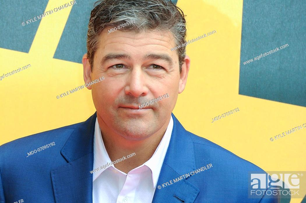 Stock Photo: American actor Kyle Martin Chandler attends the Sky TV series Catch-22 photocall. Rome (Italy), May 13th, 2019.