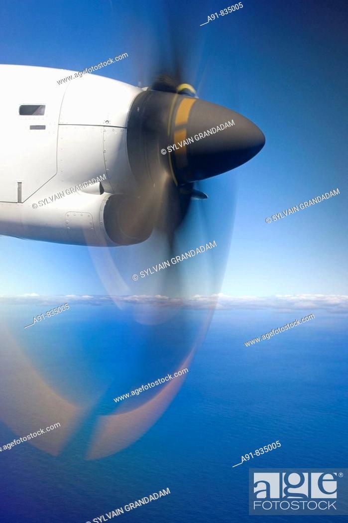 Stock Photo: Raivavae, Austral Islands, French Polynesia.