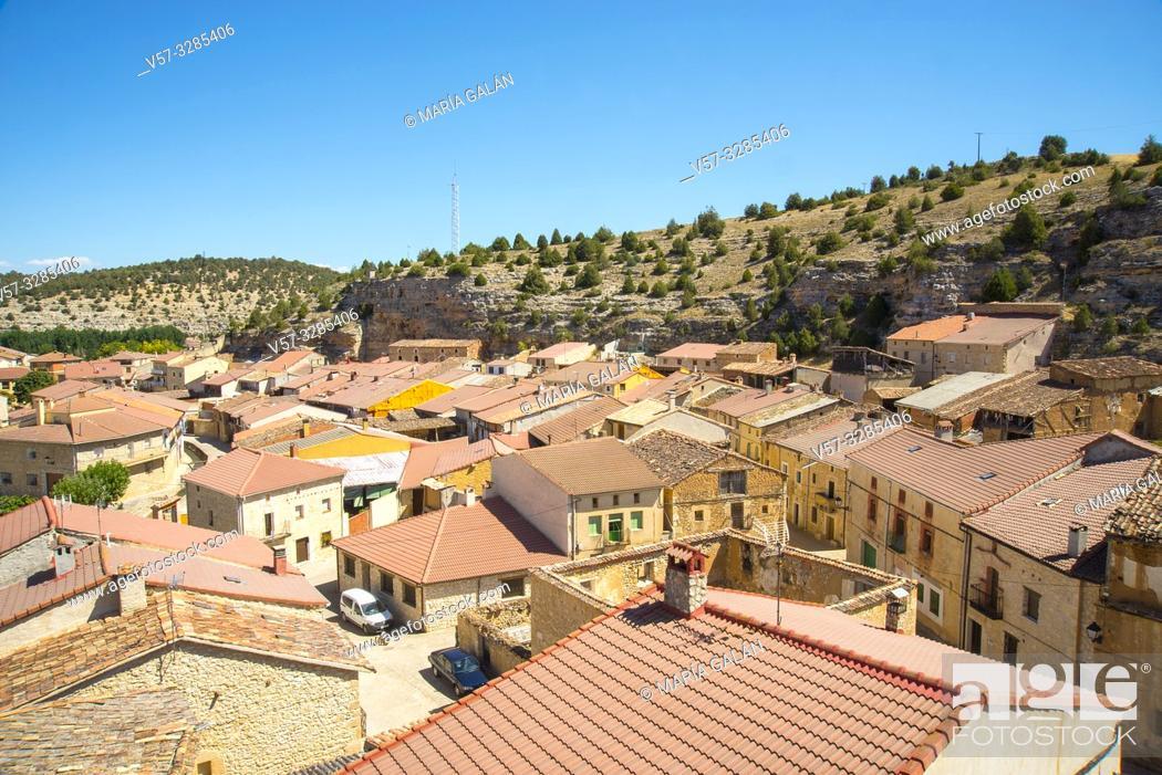 Imagen: Overview. Castillejo de Robledo, Soria province, Castilla Leon, Spain.