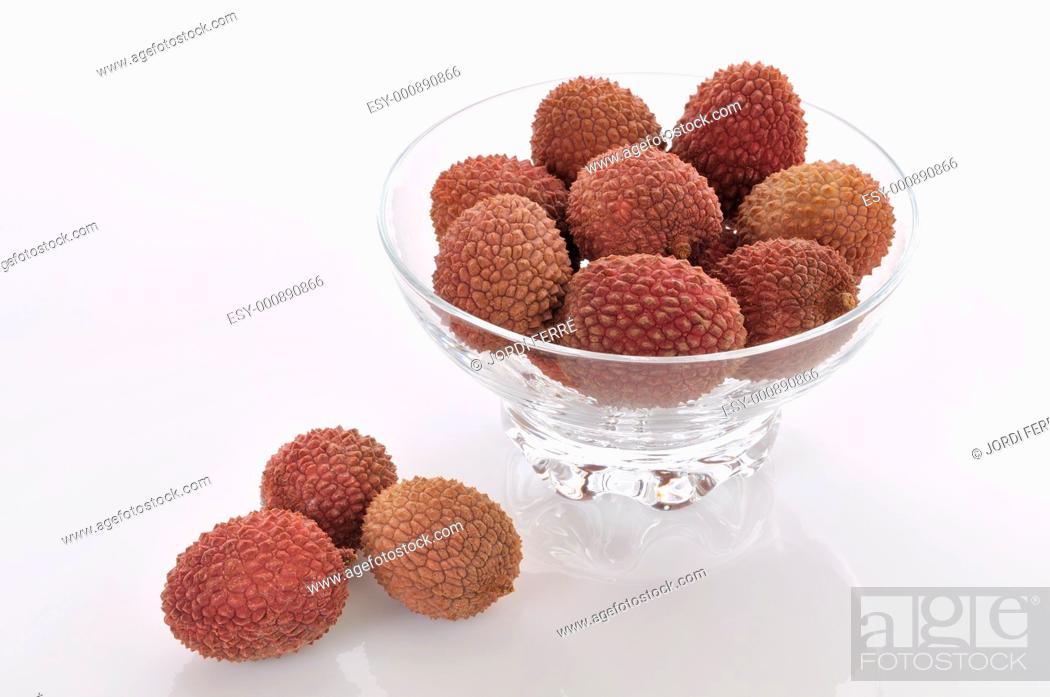 Stock Photo: lychees.