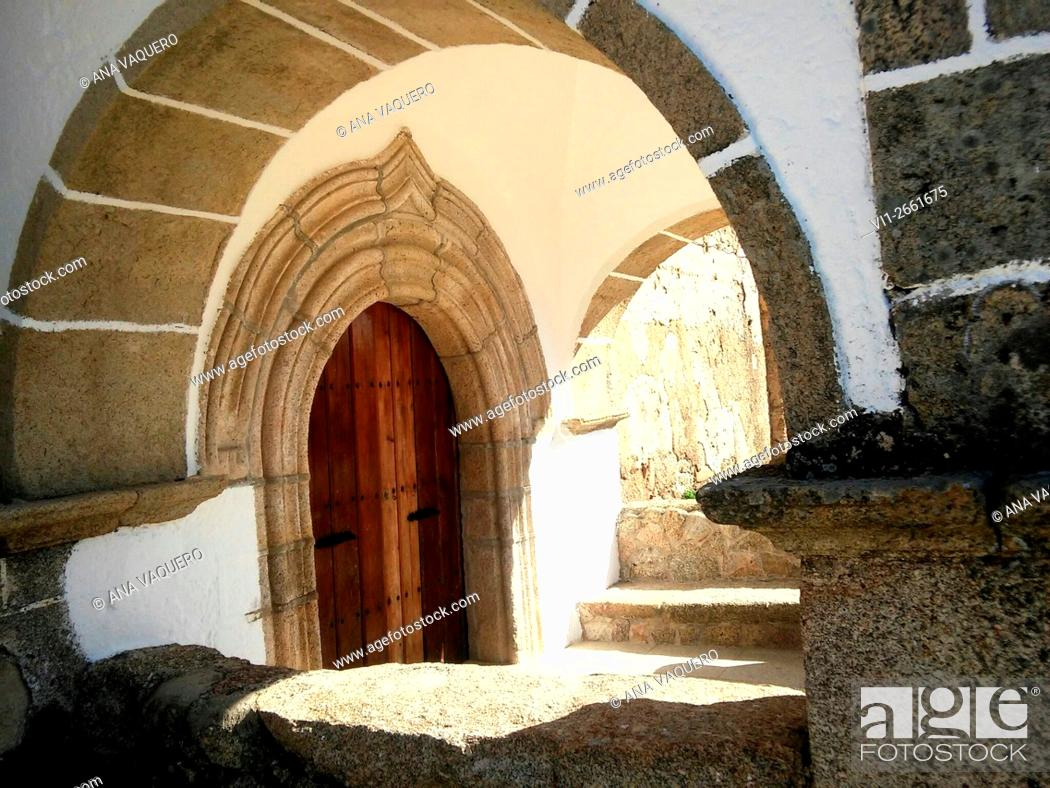 Stock Photo: Ermita (chapel), Torrequemada, Cáceres province, Extremadura, Spain.