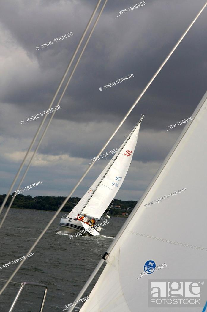 Stock Photo: x-412, eXtreme, Fjord of Flensburg, Germany.