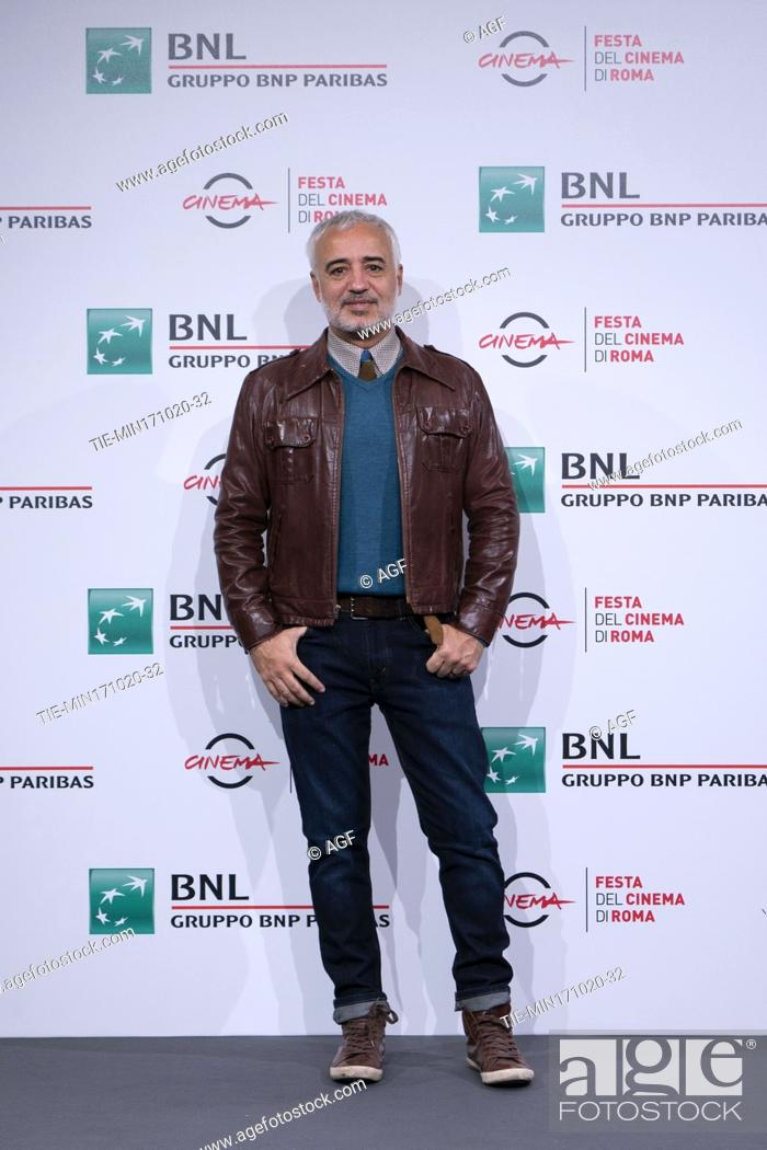 """Stock Photo: Javier Fuentes Leon attends the photocall of the movie """"""""Las Mejores Familias"""""""" (The Best Families) during the 15th Rome Film Festival on October 17."""