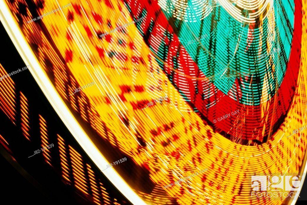 Stock Photo: Abstract Ferris Wheel.