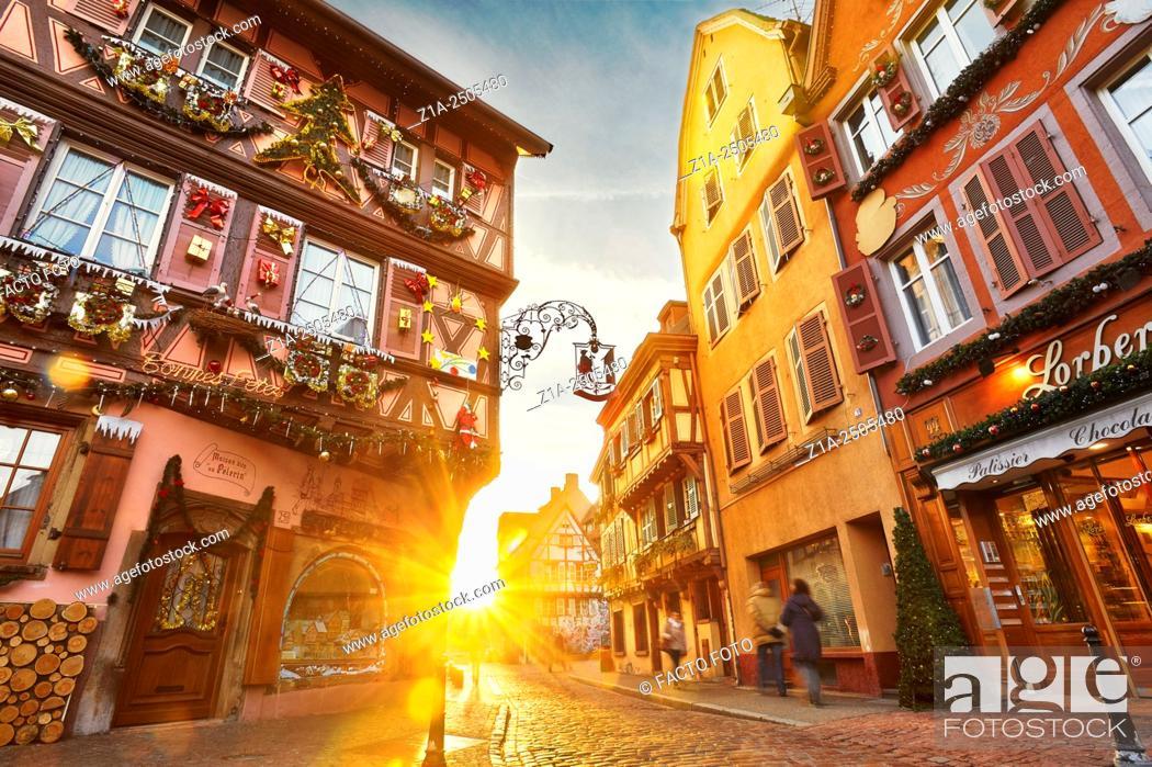 Imagen: Christmastime in Colmar. Haut- Rhin. Alsace. France.