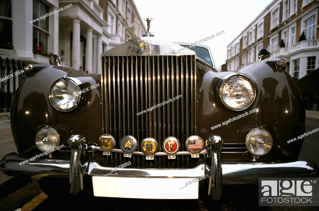 Stock Photo: Great Britain - London - Rolls Royce.