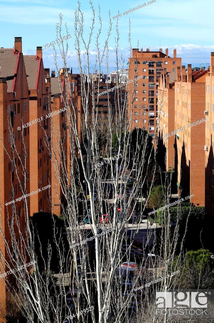 Stock Photo: Madrid, Spain.